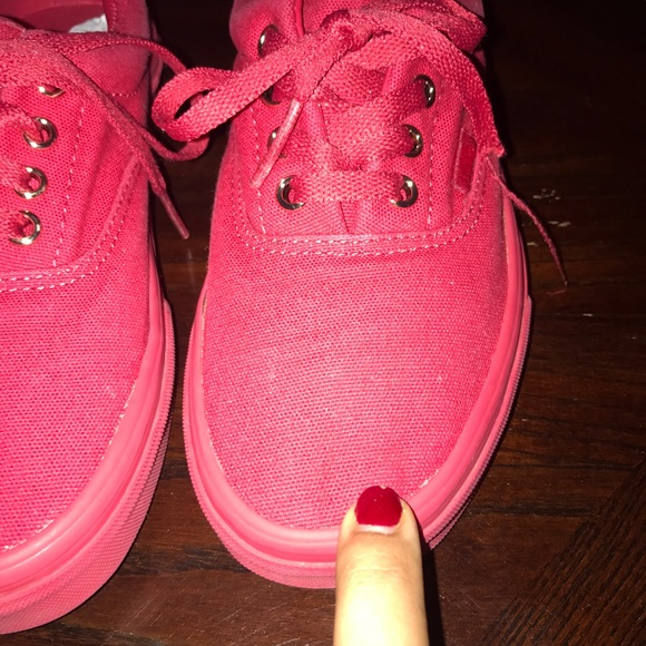 Vans Shoes   Sneakers Red   Poshmark a89bef5b1c2